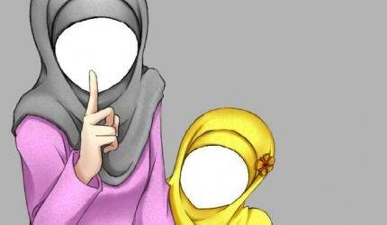 Hijab-tegning